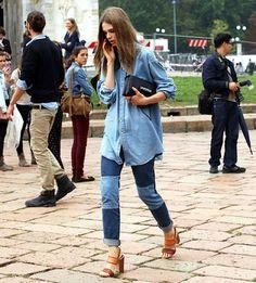 Caroline Brasch Nielsen Style - Comfy and Lentiginous