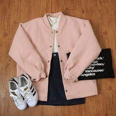Look at this Gorgeous korean fashion outfits Korean Fashion Trends, Korean Street Fashion, Korea Fashion, Asian Fashion, Korean Outfits, Mode Outfits, Casual Outfits, Fashion Outfits, Fashion Ideas