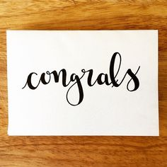 Congratulations are in order for a couple of people last week!