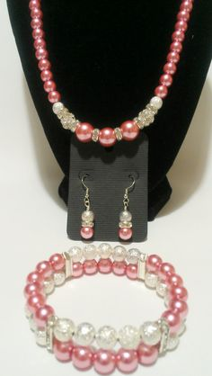 Pearl Wedding Jewelry / Bridesmaid Necklace by VickysLittleSecrets, $27.00