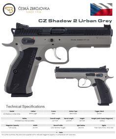 Česká Zbrojovka - CZ Shadow 2 Urban Grey