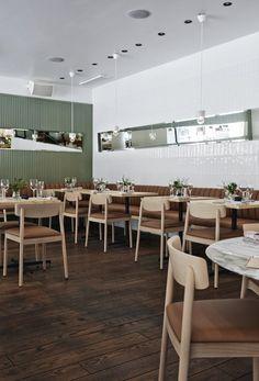 Restaurant Michel, Helsinki, by Joanna Laajisto