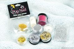 Pop nail, glitter para unhas