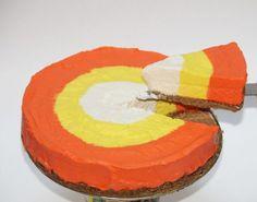 Candy Corn Cheesecake. I want that!