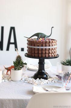 Kindergeburtstag Torte kinderschokolade