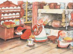 Mauri Kunnas Elves, Pixie, Cheer, Author, Artist, Prints, Christmas, Painting, Gnomes