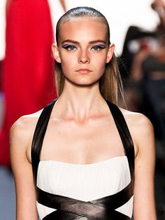 A big trend for spring 2012 is the slicked back look...do you think you can pull it off?