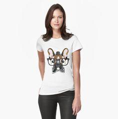 french bulldog #frenchie French Bulldog, T Shirts For Women, Collection, Tops, Style, Fashion, Swag, Moda, Bulldog Frances