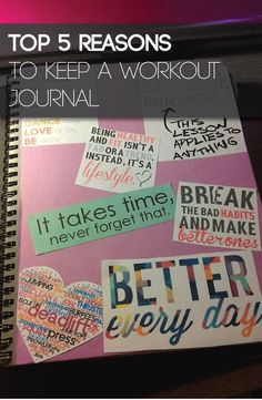 health journal You will be amazed at how a pen and paper can get you in better shape. The ing are the top 5 reasons why you should be keeping a workout journal. Fitness Journal, Food Journal, Fitness Planner, Workout Journal, Journal Ideas, Workout Binder, You Fitness, Fitness Tips, Health Fitness