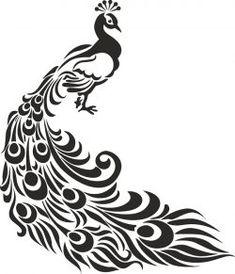 Pfau Vogel Schablone Kunsthandwerk Wand Dekor Stoffe Möbel Source by joyvanselow Stencil Patterns, Stencil Designs, Paint Designs, Peacock Vector, Peacock Images, Bird Stencil, Stencil Art, Damask Stencil, Stenciling