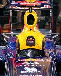 #Sebastien Vettel's Formula 1 car