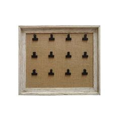 Wooden Bulldog Clip Memo Board, ideal for table settings! Memo Boards, Country Hallway, Clipboard Crafts, New Home Essentials, Wooden Bedroom, Classroom Displays, Soft Furnishings, Wooden Frames, Crafty