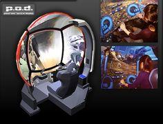 Pod arcade Simulator