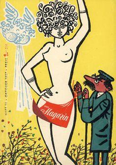 """Werner Klemke """"Das Magazin"""" 1957"""