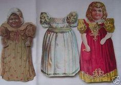 Vintage McLaughlin's Coffee Paper Doll Set (03/16/2007)