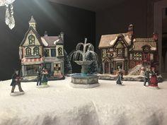 Christmas Village at Hotel Kilkenny. Christmas, Painting, Xmas, Painting Art, Weihnachten, Paintings, Yule, Jul, Natal