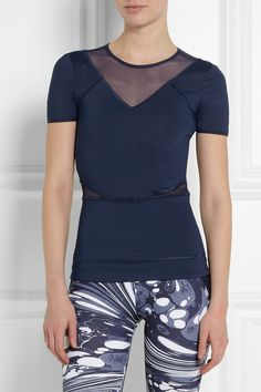 Adidas by Stella McCartney | T-shirt en jersey stretch Run Climalite® | NET-A-PORTER.COM