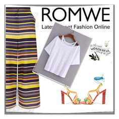 """ROMWE"" by mikica-kiki ❤ liked on Polyvore featuring New Look and Paula Cademartori"