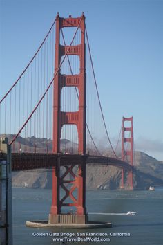 The Golden Gate Bridge, one of the world's most beautiful bridges and engineering     triumphs, spans the Golden Gate, the opening of the San Francisco Bay into the Pacific Ocean.  The bridge sees more than 10 million visitors each year.