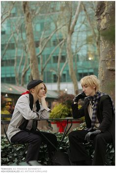 Frog Face and the Black Sheep of Europe - Hetalia UK and France