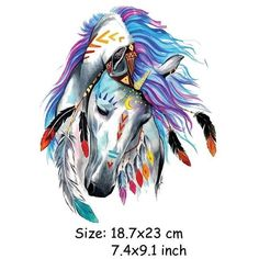 Horse Patches For Jeans Clothes Stickers - S #AwesomeArt #drawingtips