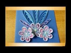 Tutorial # 41 Quilling Made Easy # How to make Beautiful Pink Flower using Paper-Paper Quilling Art - YouTube