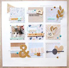 #papercrafting #scrapbook #layout - Playmobil by zinia at @studio_calico