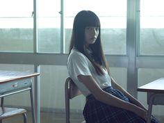 Image about girl in ulzzang by Aesthetic Japan, Aesthetic People, Japanese Aesthetic, Aesthetic Photo, Pose Reference Photo, Drawing Reference Poses, Komatsu Nana, Ulzzang Korean Girl, Body Poses