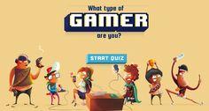 ¡Descubre qué tipo de gamer eres!