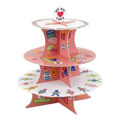 We All Love Cake Stand by Talking Tables