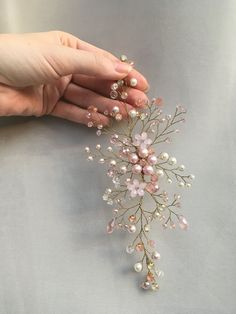 Bridal hair pins, bridesmaid h