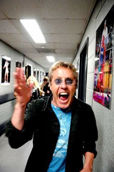 ...there is a wild side to Daltrey...?!