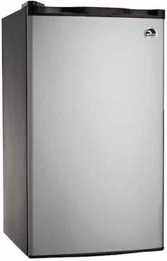 """BEST GIFTS FOR COLLEGE STUDENTS- """"IGLOO 3.2 CU FT Platinum Fridge"""" (Click for Top 5 list!)"""