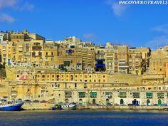 La Valeta desde el mar #malta http://www.pacoyverotravels.com/2014/07/la-valeta-en-un-dia-que-ver-hacer-con-ninos.html
