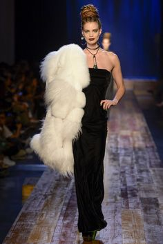 Jean Paul Gaultier Fall 2016 Couture Fashion Show - Rianne Ten Haken (Elite)