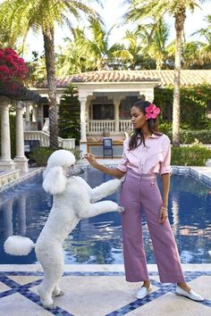 Joan Smalls shows off summer 2017's best fashion and poolside outfits in BAZAAR. See the full fashion shoot here: