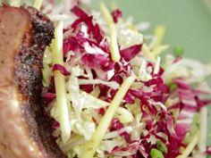 Radicchio-Green Mango Slaw Recipe   Bobby Flay   Food Network