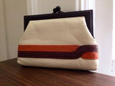 70s handbags style | Vintage 70s Style Change Purse by SunshineAndPeaches on Etsy, $10.00