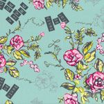 Frances Newcombe Cherie Joie De Vivre Beryl [AG-CHE-9802] - $10.95 : Pink Chalk Fabrics is your online source for modern quilting cottons and sewing patterns., Cloth, Pattern + Tool for Modern Sewists
