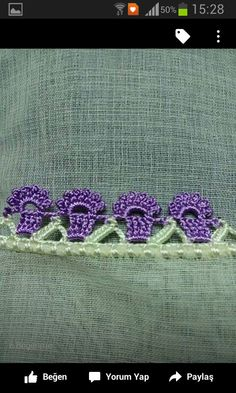 Image gallery – Page 190277152992350711 – Artofit Crochet Butterfly, Crochet Flowers, Crochet Lace, Crochet Edging Patterns, Crochet Borders, Embroidered Towels, Bargello, Cross Stitch Embroidery, Crochet Necklace