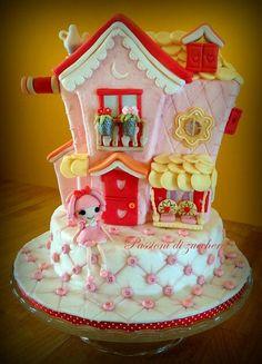 lalaloopsy house cake