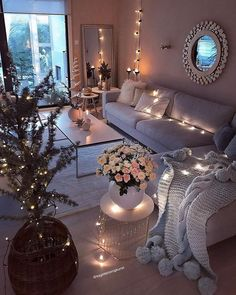 Beautiful Romantic Living Room Design And Decor Ideas 29 Romantic Living Room, Living Room Decor Cozy, Home Living Room, Interior Design Living Room, Living Room Designs, Bedroom Designs, Cozy Apartment Decor, Ikea Interior, Romantic Bedroom Decor