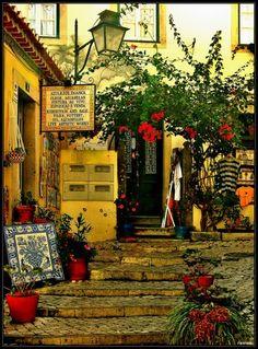 Pelas ruas de Sintra