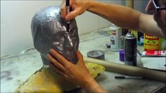 How To Make a Foam Helmet,Tutorial Part 1 - This tutorial is pure gold.  Evil Ted Smith walks you through how to create first a pattern and then how to make the basis for a helmet.  I cant wait to try making my own.