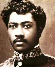 """The natives of Hawaii were Black people whose ancestral roots extend back to Africa. Prince Leleiohoku (1855-1877), Crown Prince of the Hawaiian Islands. Had he not died of rheumatic fever at age 23, his abundant talent promised that his would have been a brilliant musical career. His excellent songs are still being sung, among them """" Adios Ke Aloha"""", and """"Moani Ke Ala"""". The melodic line from """"Kaua I Ka Huahua`i"""" was later adopted for the modern """"Hawaiian War Chant."""""""