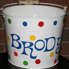 Easter Pail Personalized