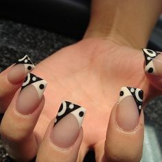 Easton's blog: Colorful French Nail Art Designs