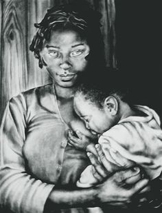 Madonna And Child Print By Curtis James