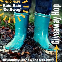 Rain Rain Go Away (More Like Snow) - Enter to #Win an Amazon GC in this HUGE Giveaway Hop - It's Free At Last