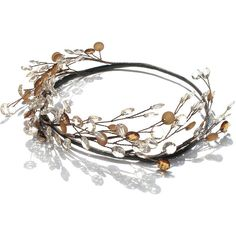 Autumn Headpiece, Wedding Circlet, Country Bride, Rustic Hair... (€24) ❤ liked on Polyvore featuring accessories, hair accessories, wedding, crown hair accessories, grecian hair accessories, flower garland, bride flower crown and bridal crown